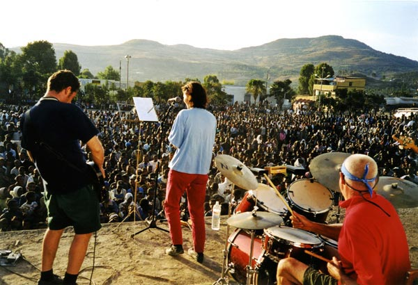 The Ex playing in Gondar